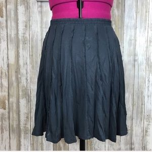 LC Lauren Conrad Gray Circle Skirt